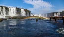 Водопады Игуасу c бразильской стороны