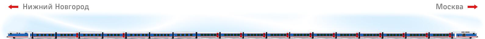 """Схема поезда """"Стриж"""""""