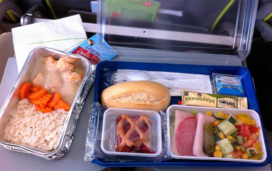 авиакомпания S7 еда на борту